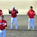 【カープ日南キャンプ打ち上げ】「春季沖縄キャンプ参加メンバー」を発表(20180215)